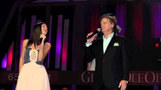 BJ Thomas and Sara Niemietz sing Hooked On A Feeling at the Grand Ole Opry