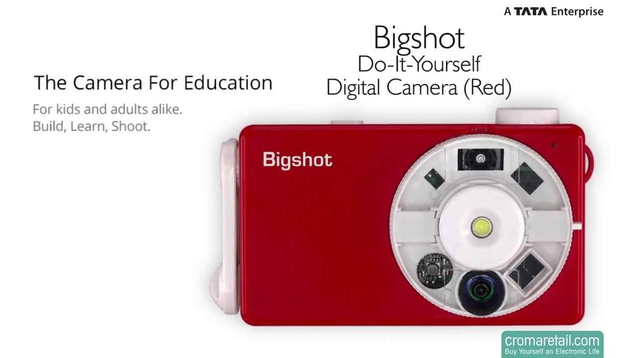 Bigshot Do It Yourself Digital Camera Red Youtube Doityourself Diy Customized Circuit Board Pcb Making