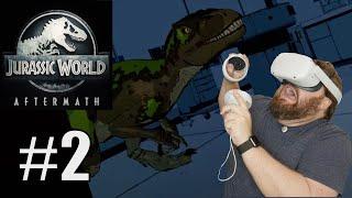 I'M A COWARD!!!  Jurassic World Aftermath Episode 2