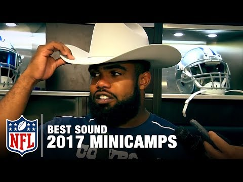 Best Sound from 2017 Minicamps | NFL