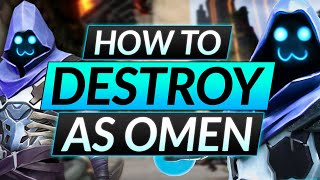 The ONLY WAY t๐ DESTROY as OMEN - BEST Agent Tips and Tricks - Valorant Pro Guide