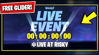 🔴 *NEW* Fortnite STAR WARS LIVE EVENT & FREE GLIDER IS HAPPENING *RIGHT NOW*