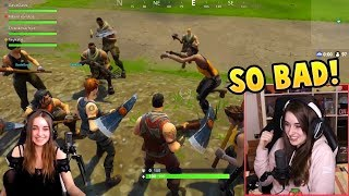 One year ago...Fortnite was a MUCH different place