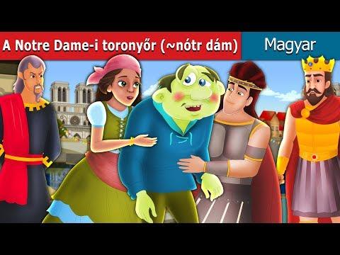 A Notre Dame-i Toronyőr (~nótr Dám) | Esti Mese | Magyar Tündérmesék |Mese A Tizenévesek Számára