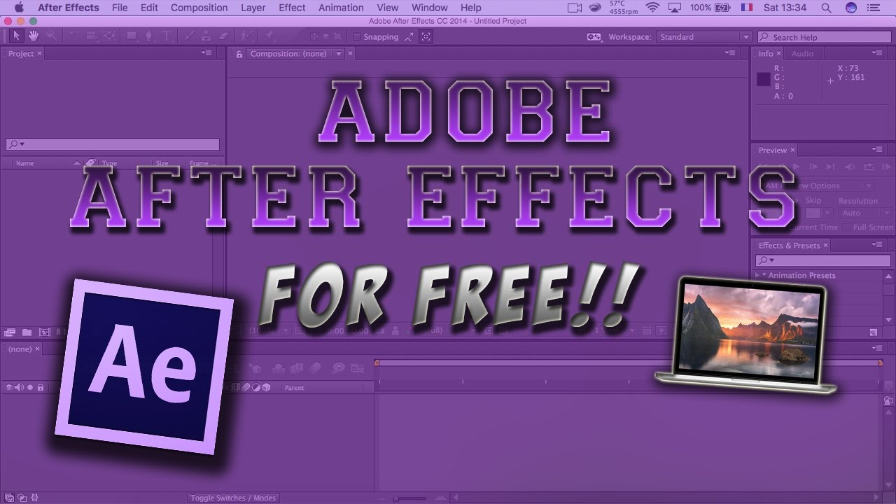 How To Get Adobe After Effects For Free Full Version Youtube