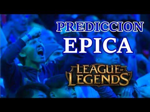10 PREDICCIONES EPICAS league of legends thumbnail
