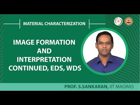 Image formation and interpretation continued, EDS, WDS