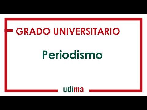 Grado En Periodismo Udima