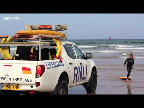 Safety on the beach - RNLI