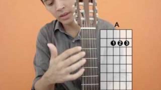 Aulas de violão para iniciantes - nº1