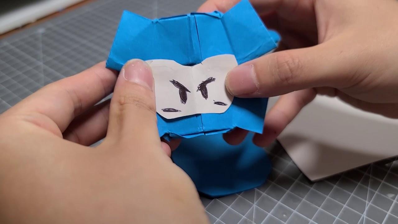 종이접기 만렙 다오 캐릭터 만들기!! [카트라이더 러쉬플러스]
