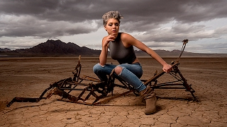 EPIC Sony A6500 High Speed Sync Single Monolight Shoot in the Desert with Flashpoint Xplor 600