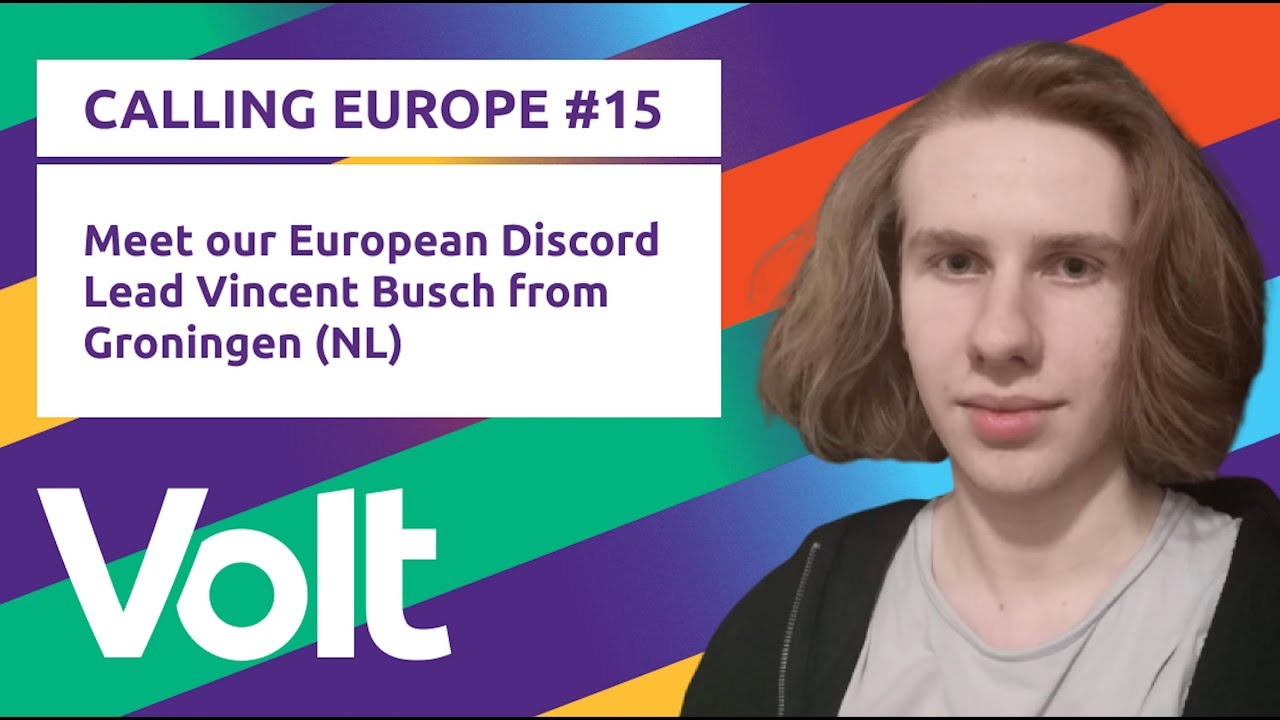 YouTube: CALLING EUROPE #15 // Vincent Busch about our Discord server as instrument for community management.