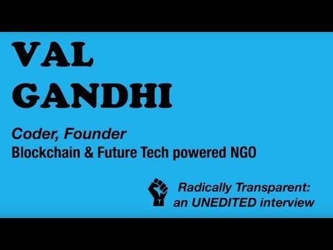 Val Ghandi - Blockchain, NGOs & Frugal Innovation in Indonesia, Kenya, Mexico