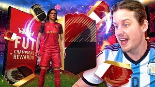 ARSENAL ICON IN A PACK! 20th IN THE WORLD FUT CHAMPS REWARDS! FIFA 18 ULTIMATE TEAM