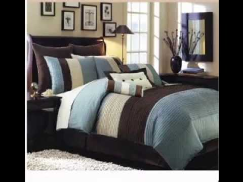Teal and brown bedroom ideas