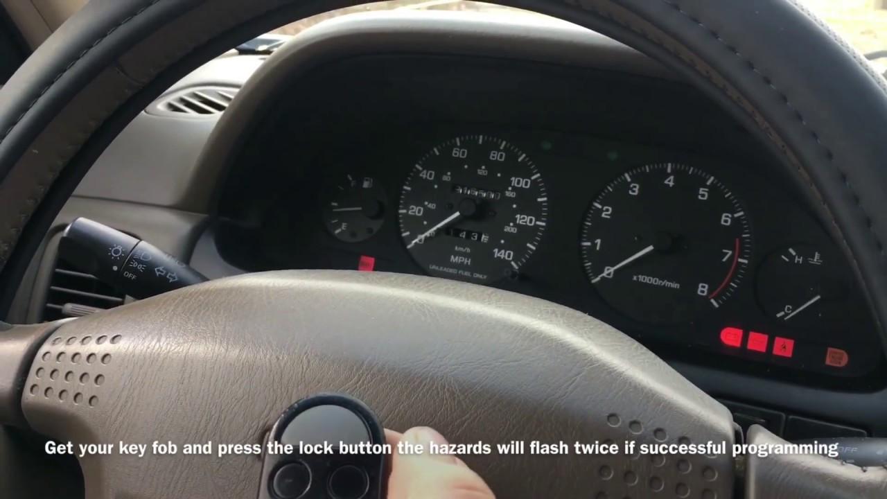 How To Program A Key Fob 1997 Nissan Maxima Gle