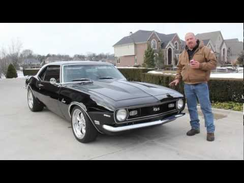 1968 Chevy Camaro Classic Muscle Car for Sale in MI Vanguard Motor Sales