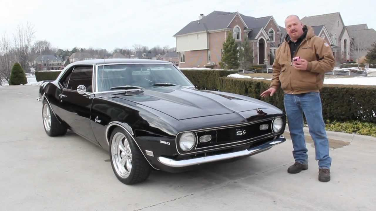 1968 chevy camaro classic muscle car for sale in mi vanguard motor