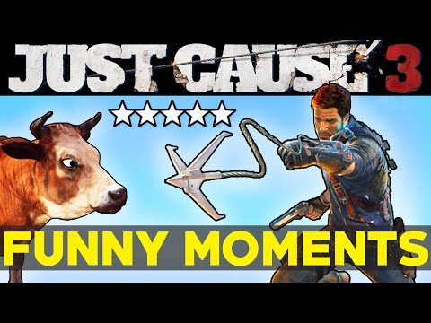 Just Cause 3: Funny Moments EP.2 (JC3 Epic Moments Funtage Montage Gameplay)