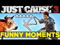 YouTube Turbo Just Cause 3: Funny Moments EP.2 (JC3 Epic Moments Funtage Montage Gameplay)