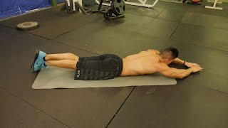 Bodyweight Chest & Back Workout