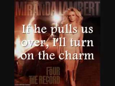 Miranda Lambert - Fastest Girl In Town [Lyrics On Screen]