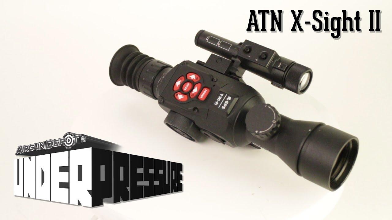 ATN X-Sight II 5-20x50 Day & Night Digital Rifle Scope