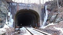 OLD PEQUABUCK TRAIN TUNNEL TERRYVILLE CT 1910