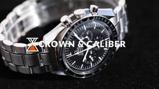 Omega Speedmaster Professional Moonwatch | Crown & Caliber Hot Minute with a Watch