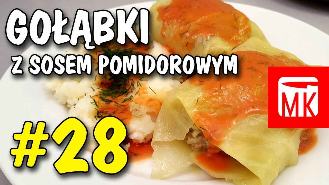 Męska Kuchnia 28 Gołąbki Z Sosem Pomidorowym