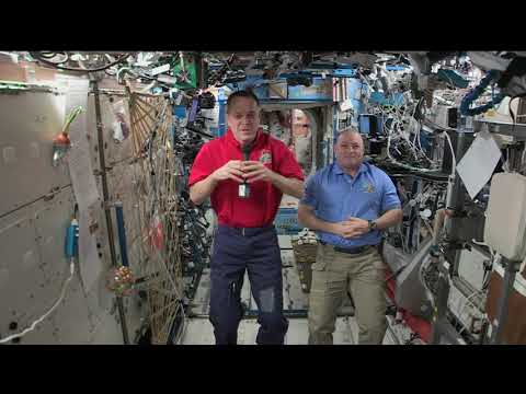 Expedition 55 Inflight Interview - Vaughn Next Century Learning Center - May 22, 2018