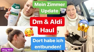 dm & Aldi Haul l Beauty Zimmer Update l Kinder öffentlich zeigen? l Babyboom l Vlog 1011