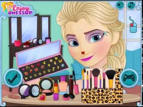 Kraina Lodu Elsa Makeup Gry Dla Dzieci