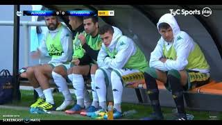 Aldosivi 2 - 0 Estudiantes de San Luis 1T