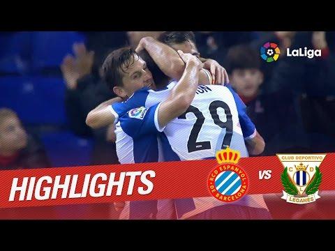 Resumen de RCD Espanyol vs CD Leganés (3-0)