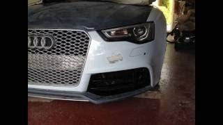 DEL'S A5 to RS5 Facelift Replica Conversion Part 1