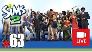 """[Archiwum] Live - Przygody Rudej Gejszy (The Sims 2) (37) - [2/3] - """"Bitwa Krowy z Lamą"""""""