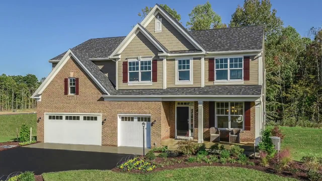 Calatlantic homes washington d c washington model youtube for Washington home builders
