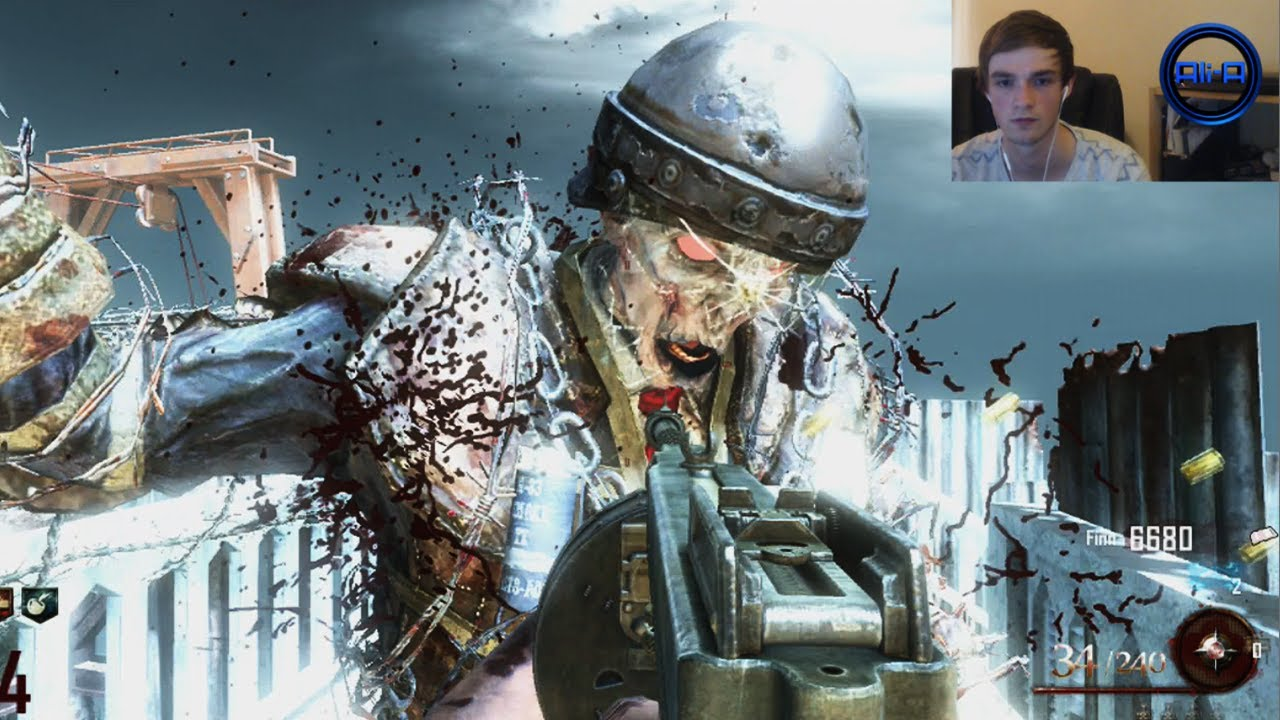 Mob of the dead zombies gameplay w ali a live 4 - Mob of the dead pictures ...