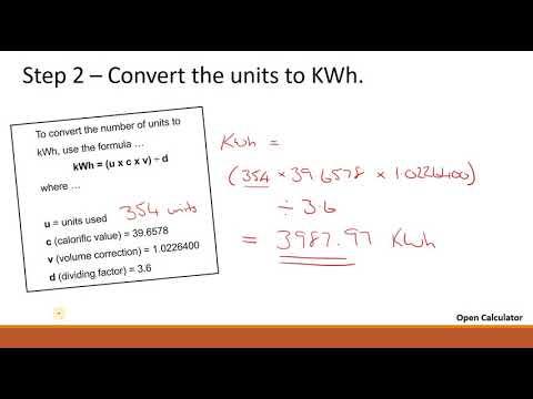 Gas bills instructional video