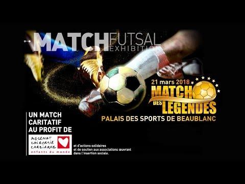 Match Futsal Génération98 VS Sélection Internationale 2018