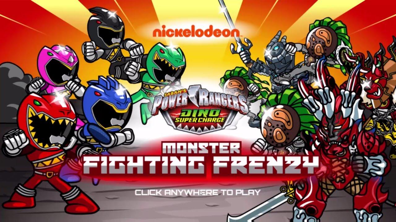 Sieu Nhan Game Play   Siêu nhân khủng long đánh nhau với quái vật   power rangers dino thunder