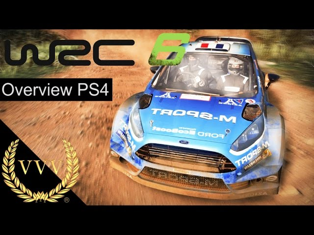 WRC 6 Overview PS4