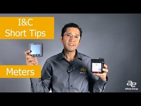 I&C Short Tips - Meters and Meter Displays