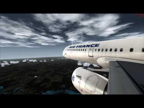 AIR FRANCE A321 Full Flight: Phuket [HKT] to Bangkok [BKK] FSX