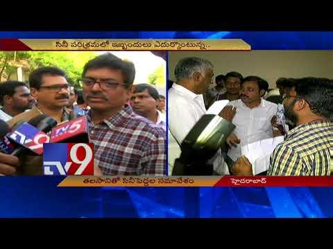 MAA president Sivaji Raja condemns attack on Media - TV9