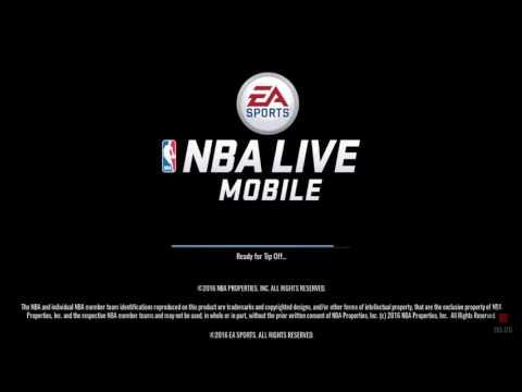 NBA LIVE MOBILE!!!! #1 *SORRY LANGSUNG SELESAI SOALNYA DIPANGGIL