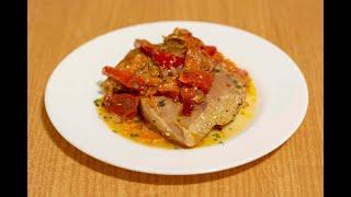 Вкусный и быстрый ужин! Курица с овощами