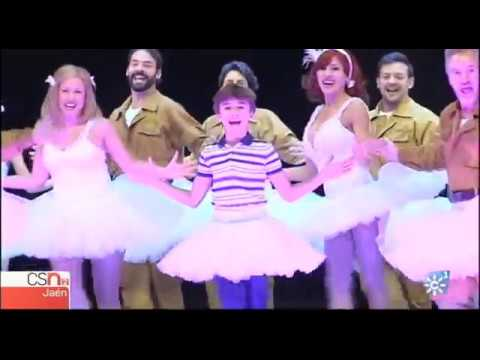Un jiennense protagoniza el musical 'Billy Elliot'